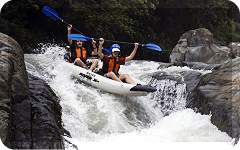pacora river panama wild water kayaking panama white water