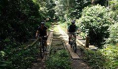 Panama Canal Mountain Bike Trip